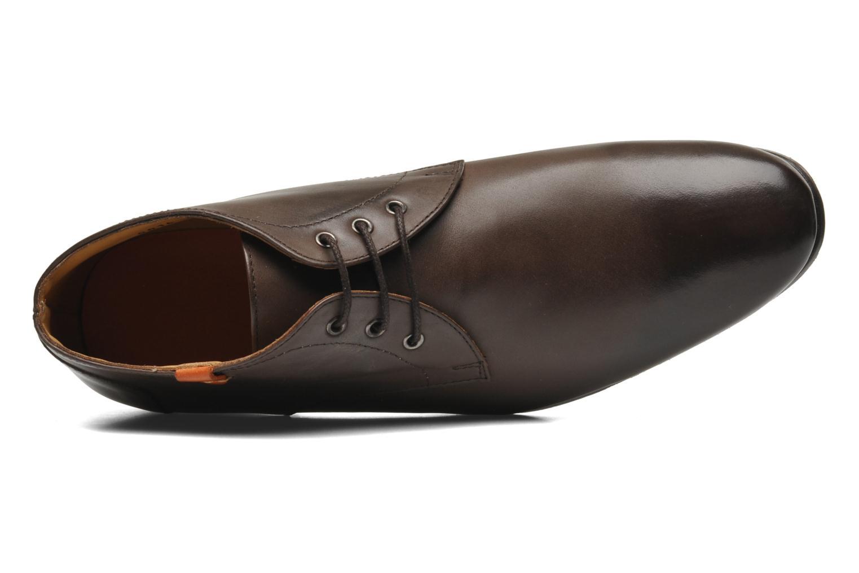 Chaussures à lacets HE Spring Cl Chukka Marron vue gauche