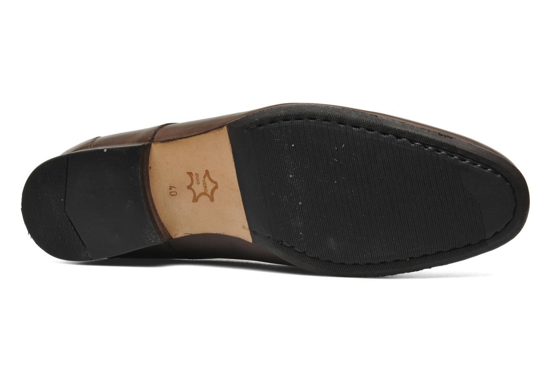 Chaussures à lacets HE Spring Cl Chukka Marron vue haut