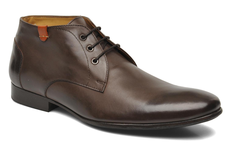 Chaussures à lacets HE Spring Cl Chukka Marron vue détail/paire