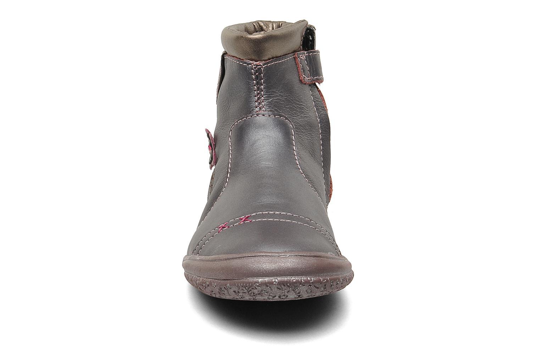 Stiefeletten & Boots GBB HELENE lila schuhe getragen