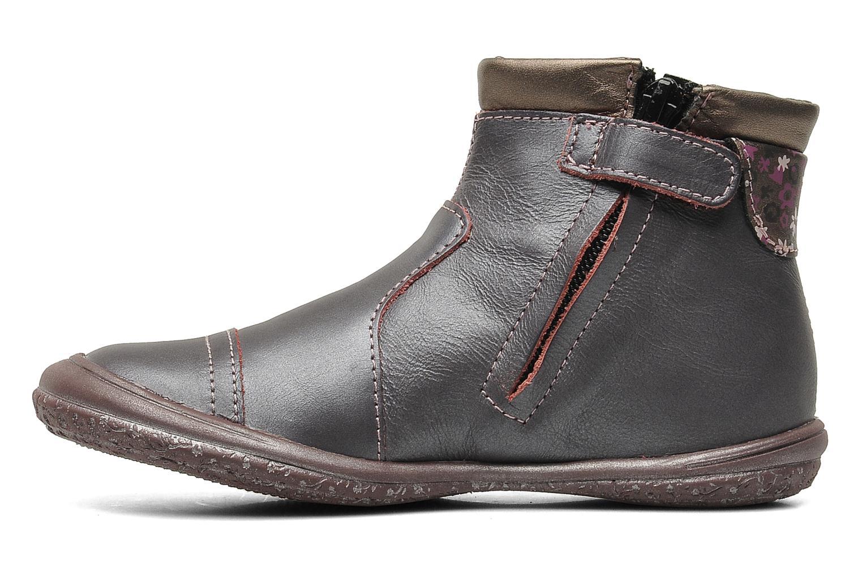 Stiefeletten & Boots GBB HELENE lila ansicht von vorne