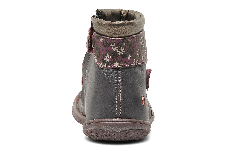 Stiefeletten & Boots GBB HELENE lila ansicht von rechts