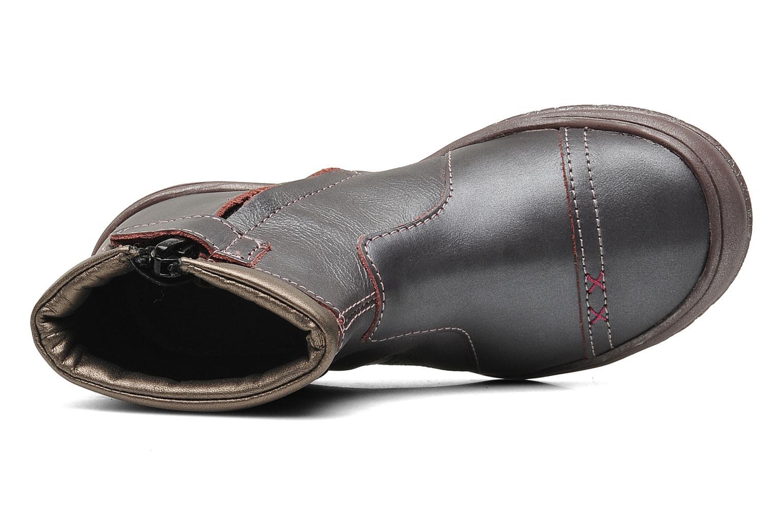 Stiefeletten & Boots GBB HELENE lila ansicht von links