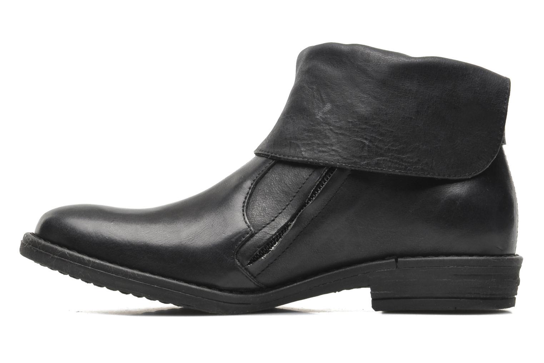 Bottines et boots IKKS KENSLEY Noir vue face