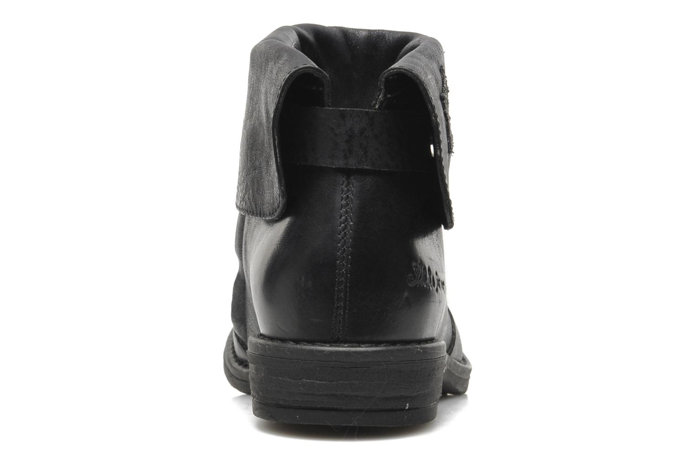 Bottines et boots IKKS KENSLEY Noir vue droite