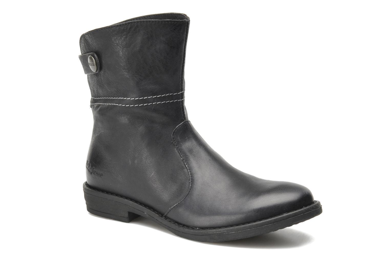 Bottines et boots IKKS KENSLEY Noir vue haut