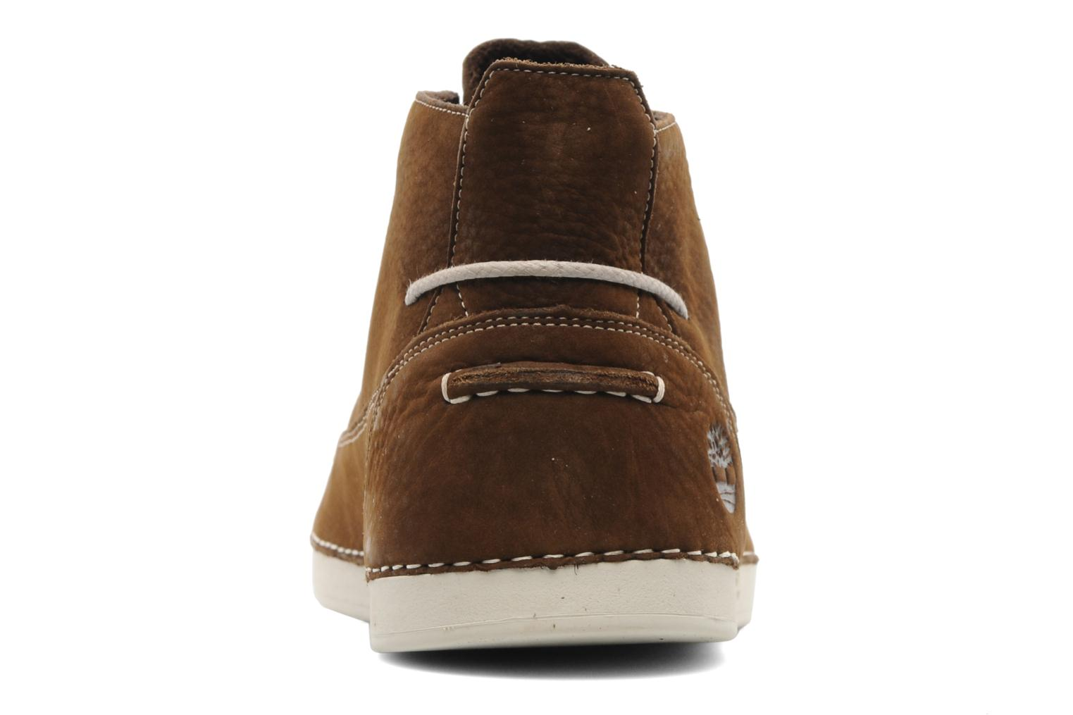Lace-up shoes Timberland EK20 BOAT MTC Brown view from the right