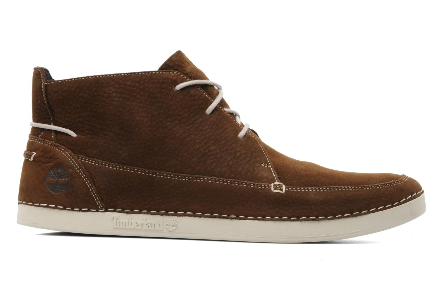 Lace-up shoes Timberland EK20 BOAT MTC Brown back view