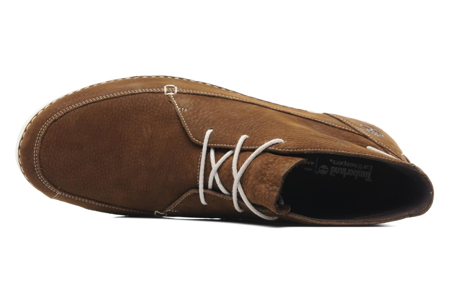 Lace-up shoes Timberland EK20 BOAT MTC Brown view from the left