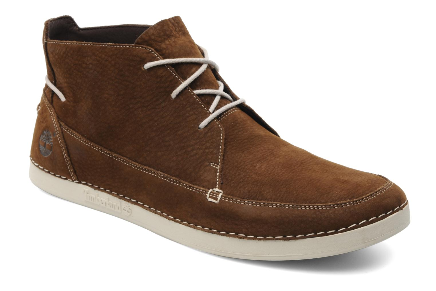 Lace-up shoes Timberland EK20 BOAT MTC Brown detailed view/ Pair view