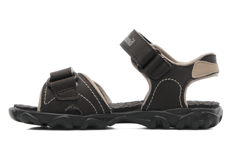 Sandales et nu-pieds Timberland Splashtown 2 Strap Sandal J Marron vue face