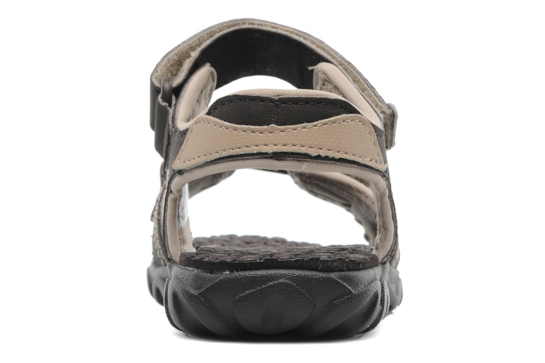 Sandales et nu-pieds Timberland Splashtown 2 Strap Sandal J Marron vue droite