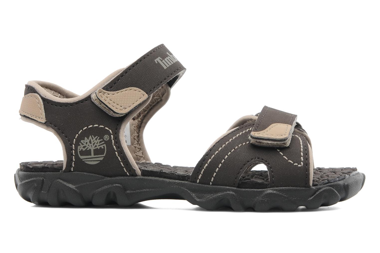 Sandales et nu-pieds Timberland Splashtown 2 Strap Sandal J Marron vue derrière