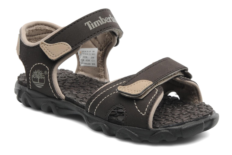 Sandales et nu-pieds Timberland Splashtown 2 Strap Sandal J Marron vue détail/paire