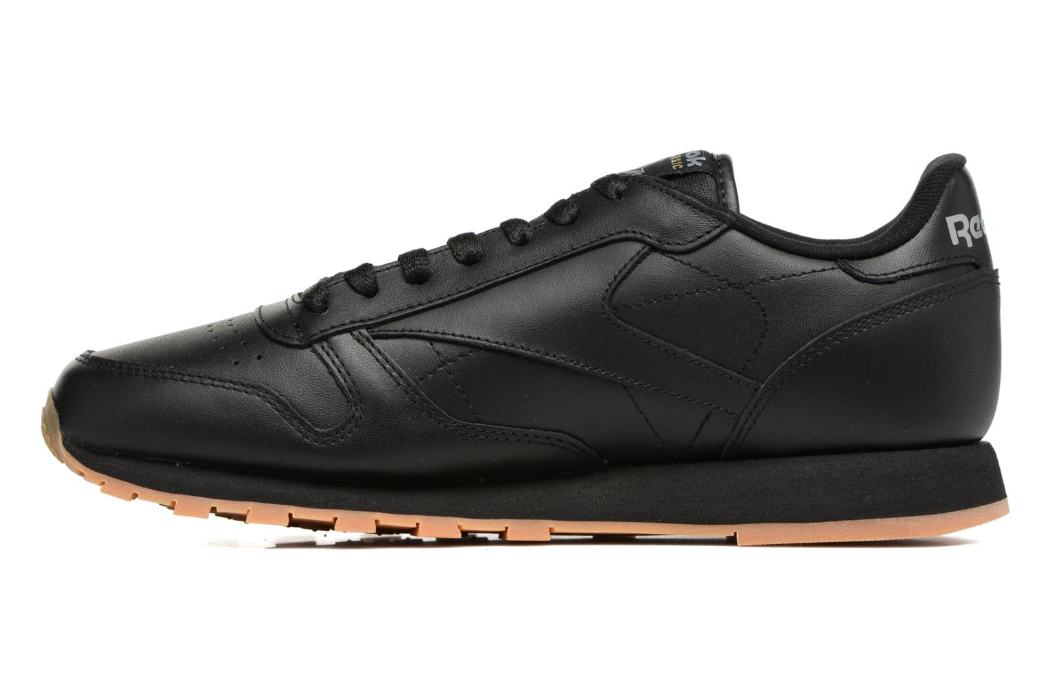 Trainers Reebok Classic Leather Black front view