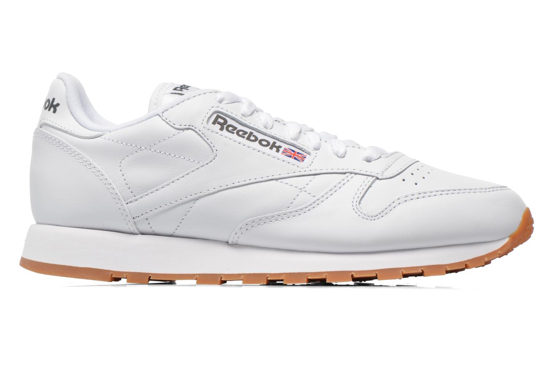 Sneaker Reebok Classic Leather W weiß ansicht von hinten