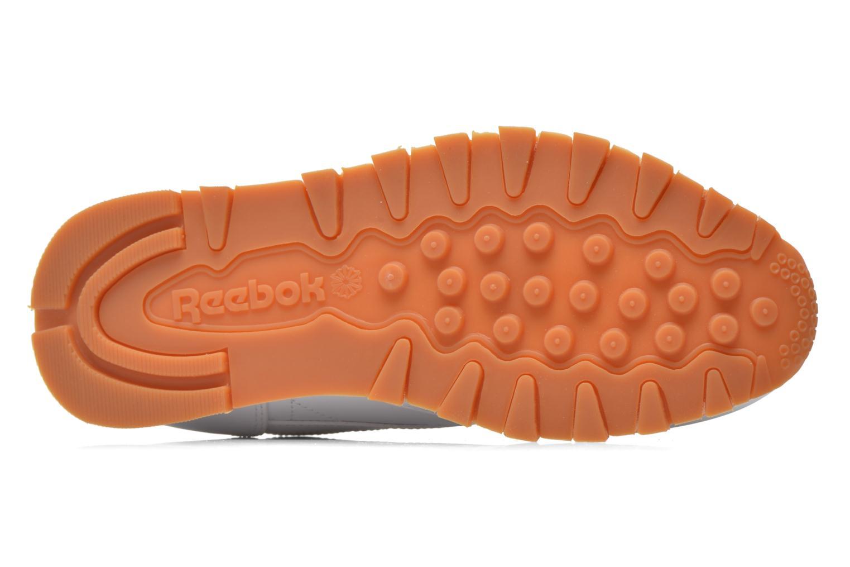 Sneaker Reebok Classic Leather W weiß ansicht von oben