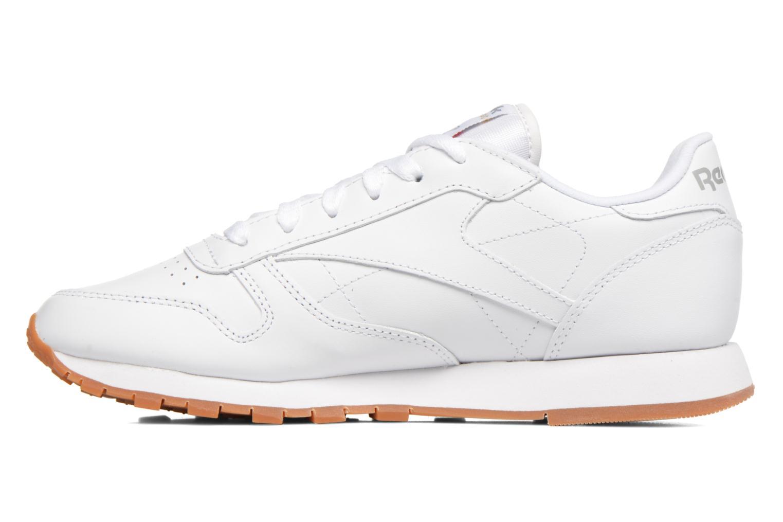 Deportivas Reebok Classic Leather W Blanco vista de frente
