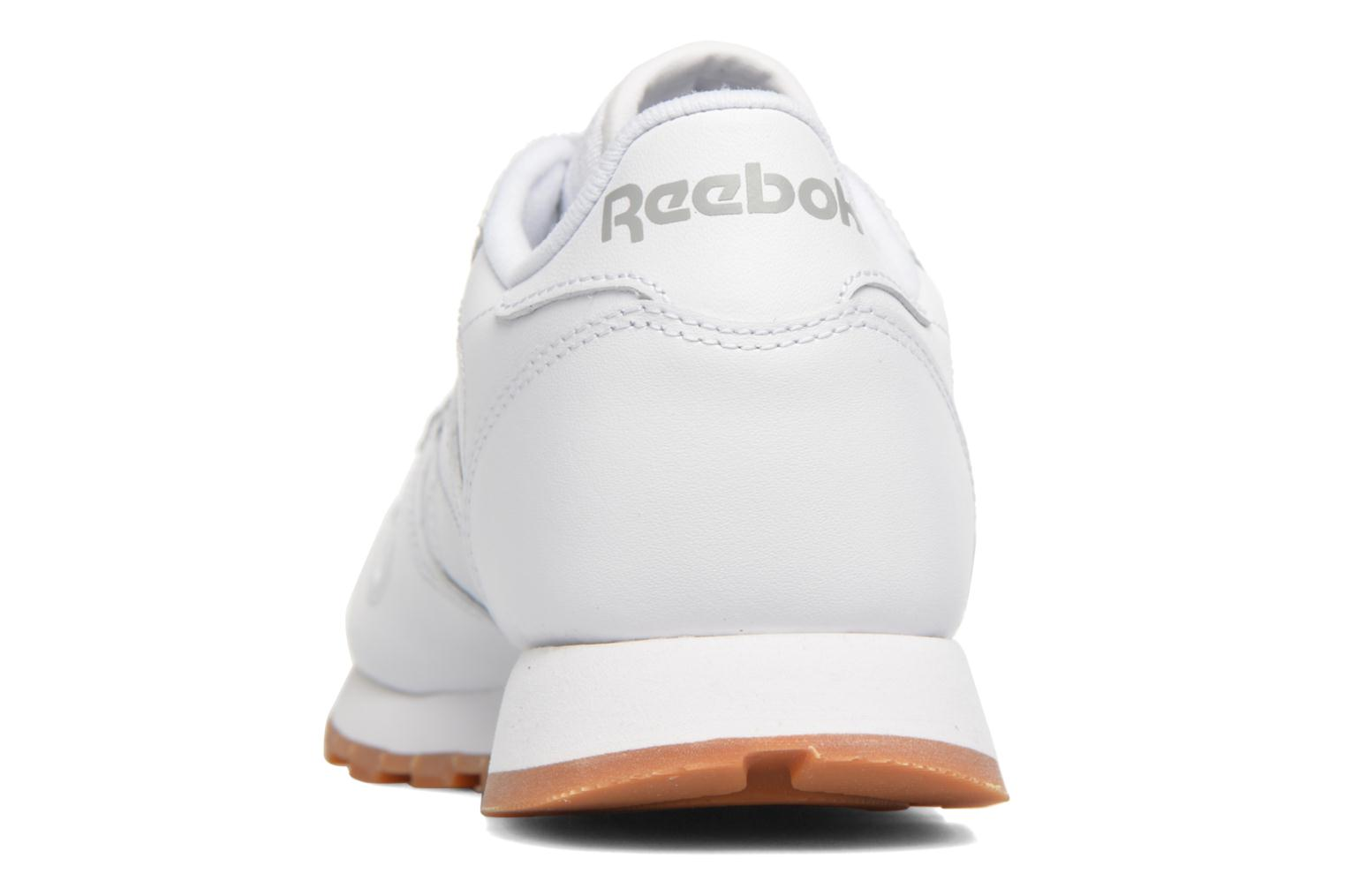Trainers Reebok Classic Leather W White view from the right