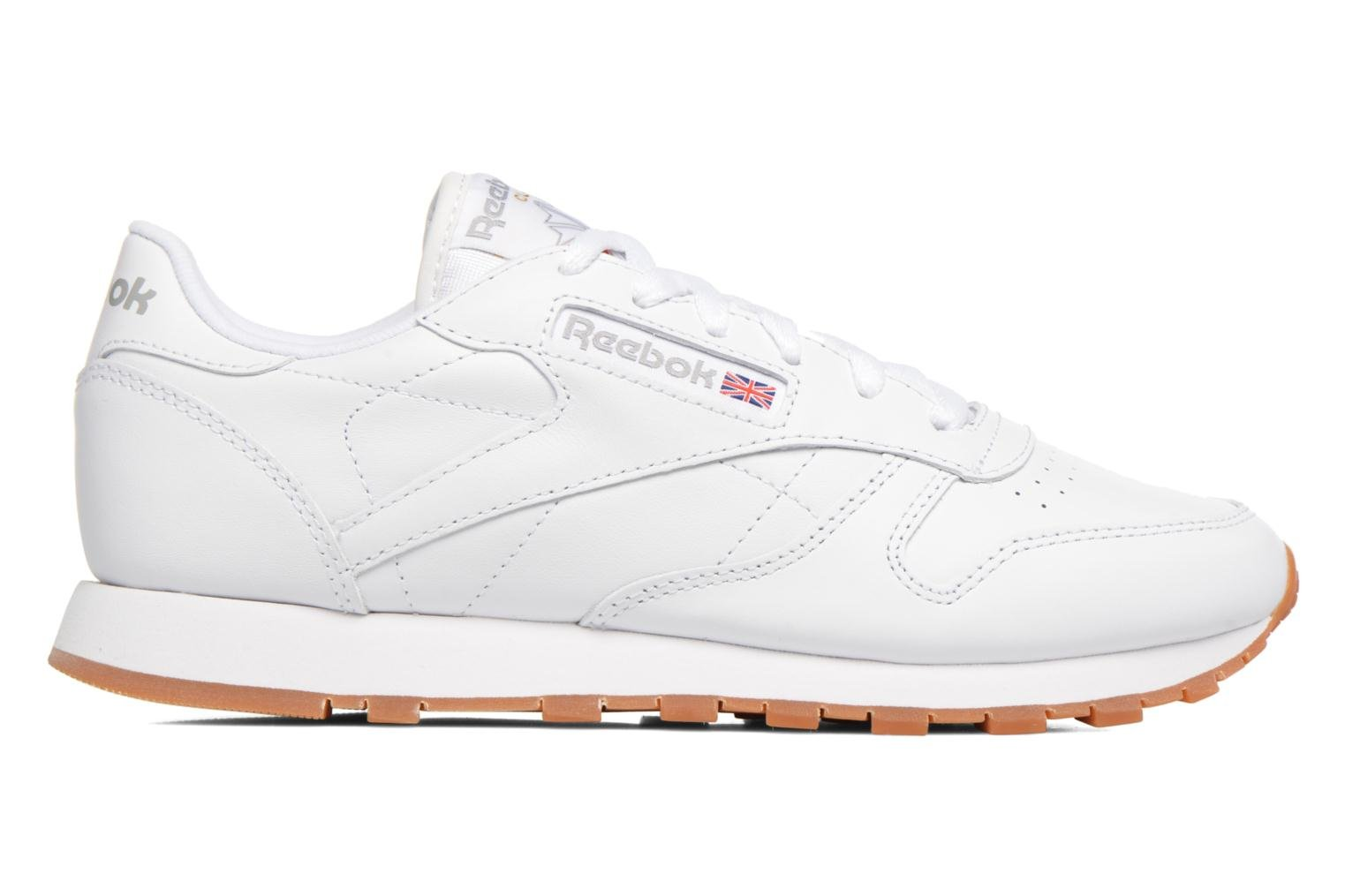 Trainers Reebok Classic Leather W White back view