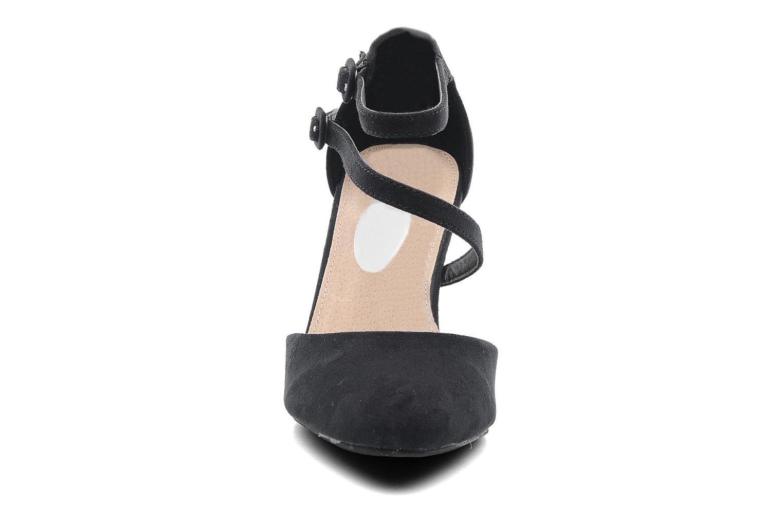 Escarpins I Love Shoes Kibo Noir vue portées chaussures