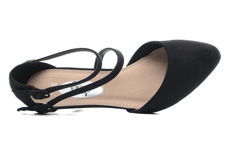 Escarpins I Love Shoes Kibo Noir vue gauche