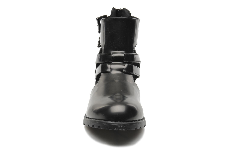 Stivaletti e tronchetti I Love Shoes Kimere Nero modello indossato