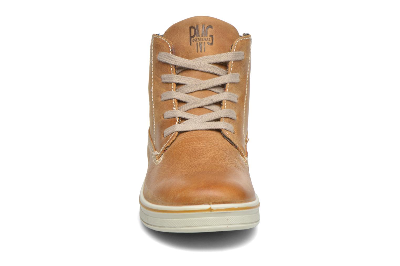 Sneaker Primigi ROLAND braun schuhe getragen
