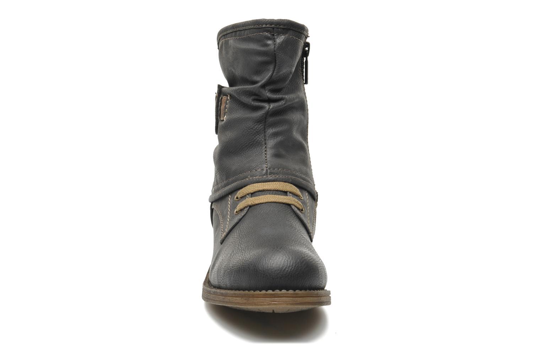 Bottines et boots Mustang shoes Masya Gris vue portées chaussures