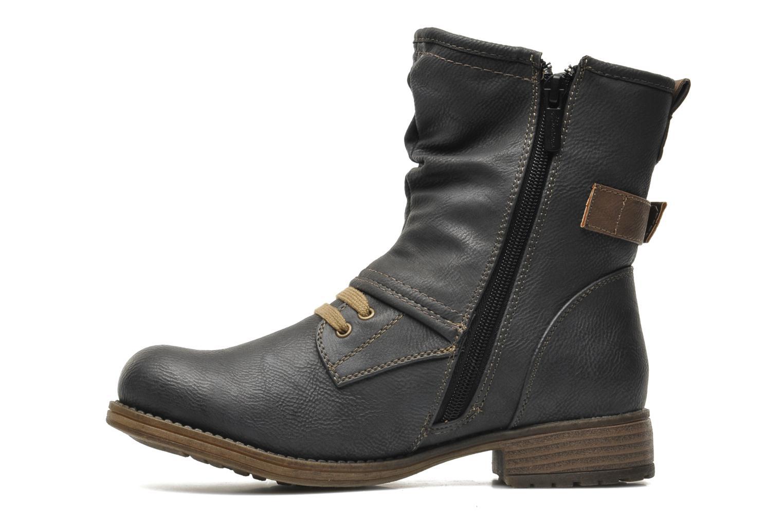 Bottines et boots Mustang shoes Masya Gris vue face