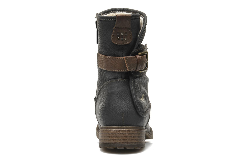 Bottines et boots Mustang shoes Masya Gris vue droite