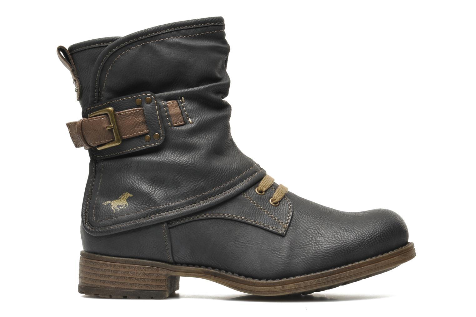 Stiefeletten & Boots Mustang shoes Masya grau ansicht von hinten