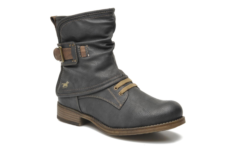Bottines et boots Mustang shoes Masya Gris vue détail/paire