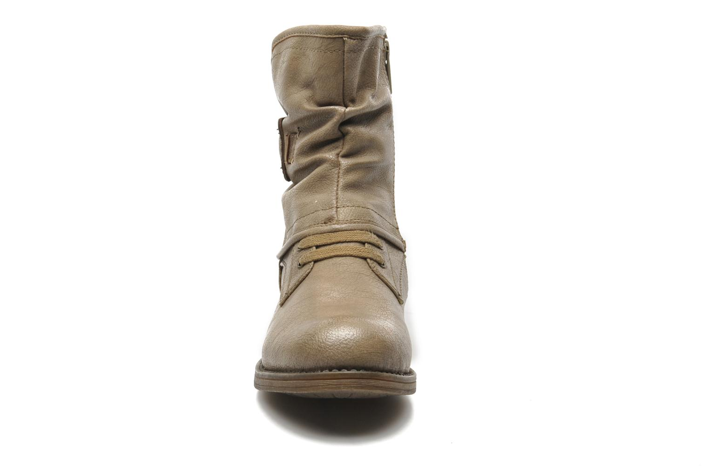 Stiefeletten & Boots Mustang shoes Masya beige schuhe getragen