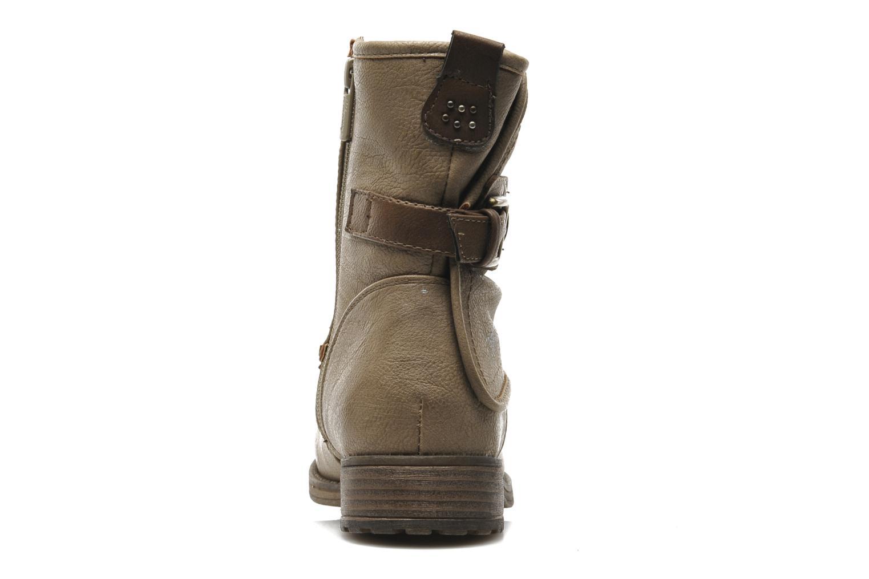 Stiefeletten & Boots Mustang shoes Masya beige ansicht von rechts
