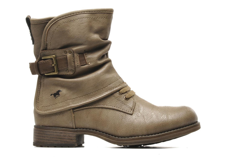 Stiefeletten & Boots Mustang shoes Masya beige ansicht von hinten