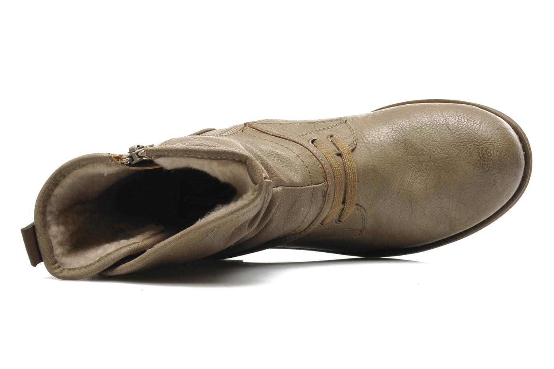 Stiefeletten & Boots Mustang shoes Masya beige ansicht von links