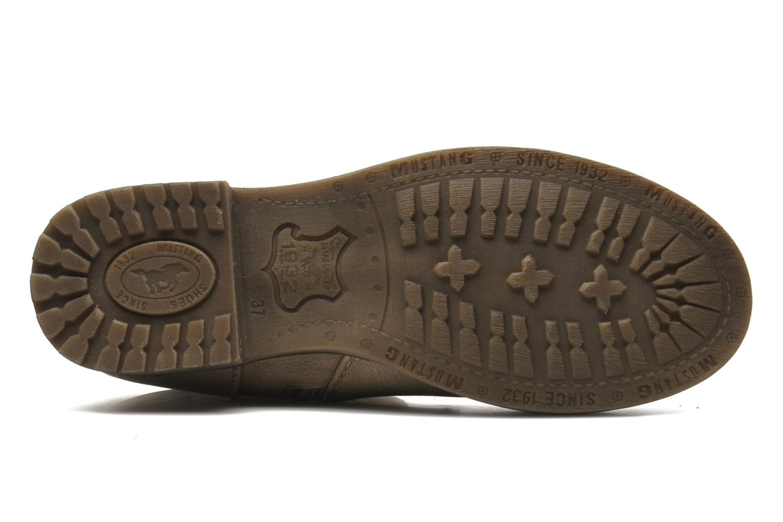 Bottines et boots Mustang shoes Masya Beige vue haut