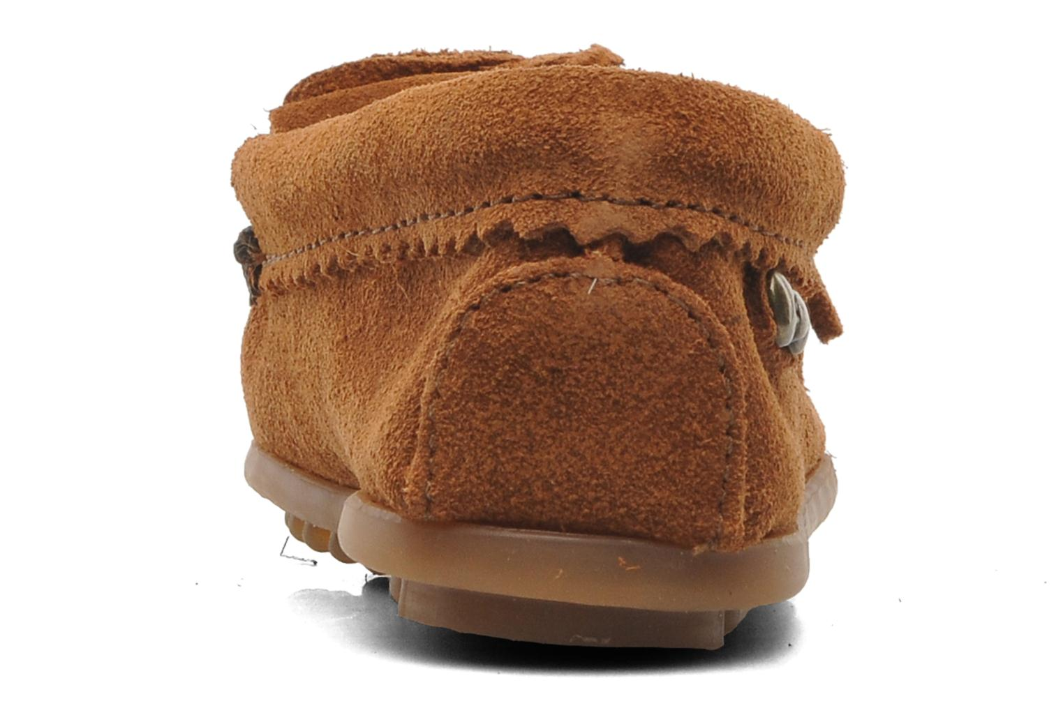 Loafers Minnetonka Hello Kitty Moc Brown view from the right