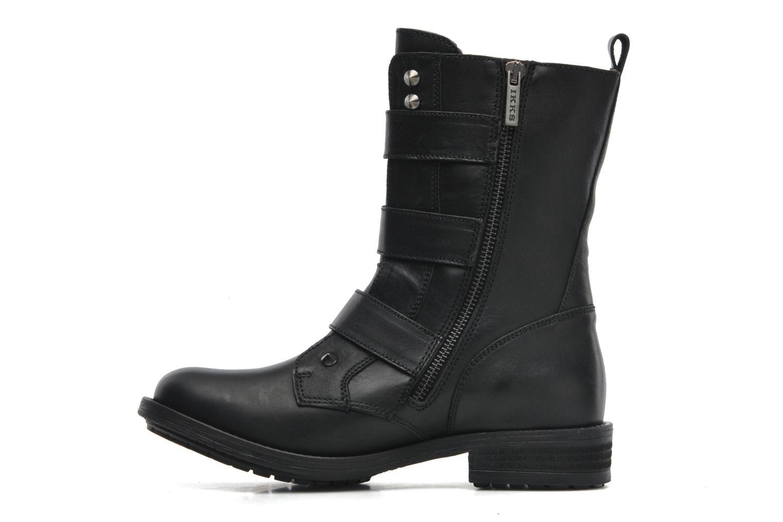 Boots en enkellaarsjes IKKS Ranger collector boucle Zwart voorkant