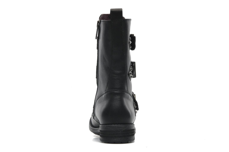Boots en enkellaarsjes IKKS Ranger collector boucle Zwart rechts