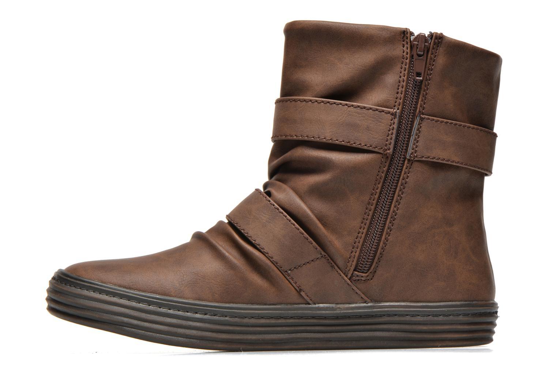 Boots en enkellaarsjes Blowfish Octave Bruin voorkant