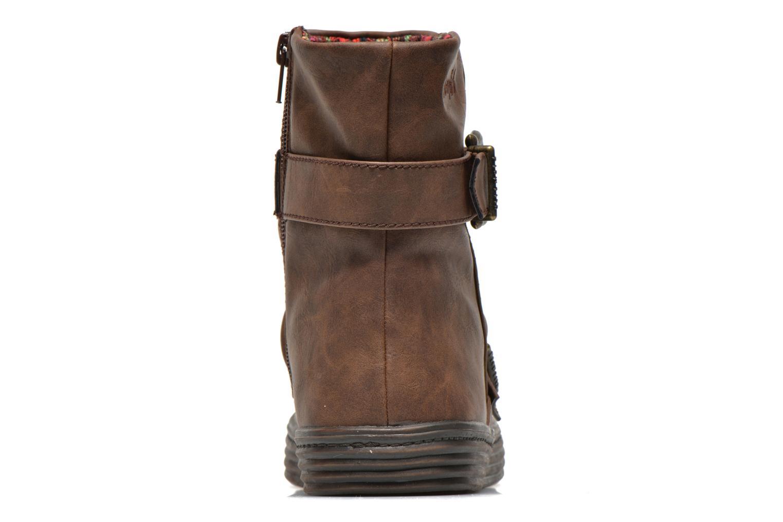 Boots en enkellaarsjes Blowfish Octave Bruin rechts