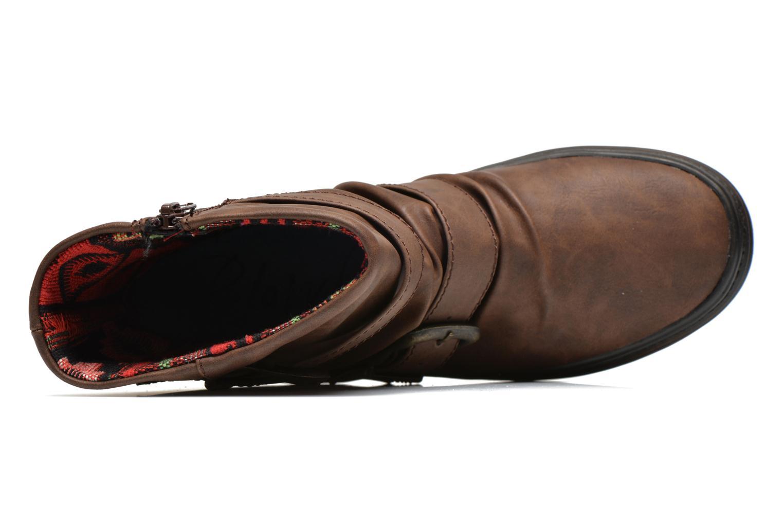 Bottines et boots Blowfish Octave Marron vue gauche