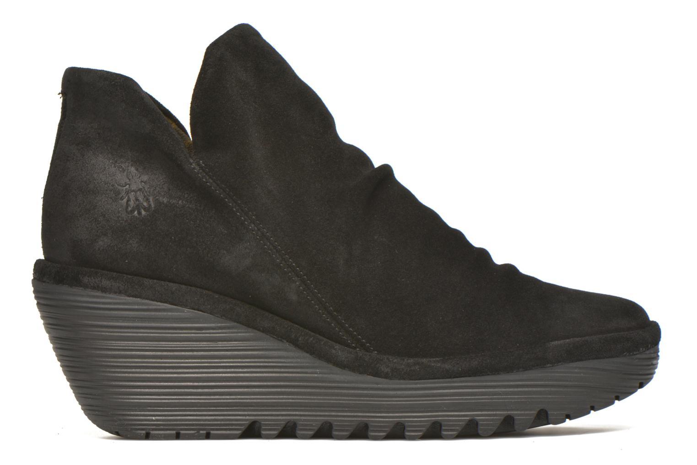 Bottines et boots Fly London Yip Noir vue derrière
