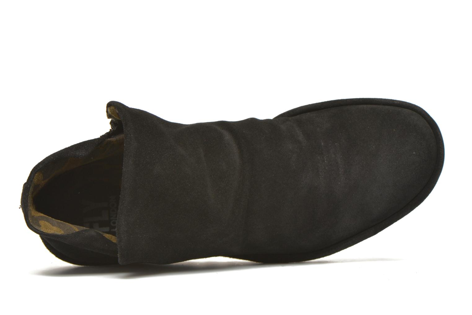 Ankle boots Fly London Yip Black view from the left