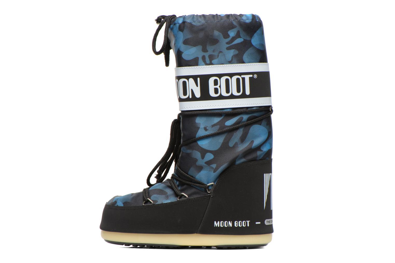Laarzen Moon Boot Camu Blauw voorkant
