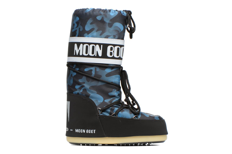 Laarzen Moon Boot Camu Blauw achterkant
