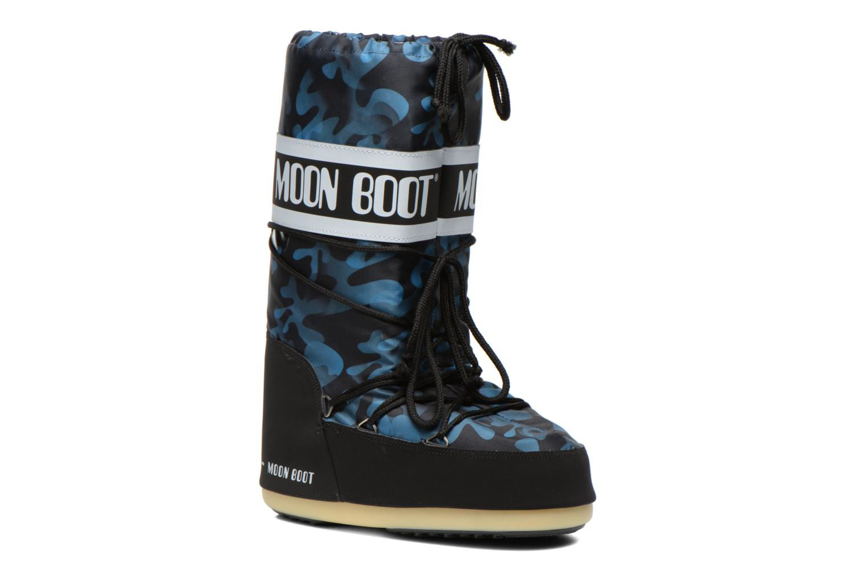Laarzen Moon Boot Camu Blauw detail