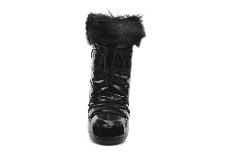 Bottes Moon Boot Vail Noir vue portées chaussures